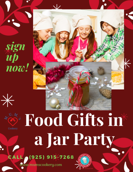 Food Gifts in a Jar Cooking Class